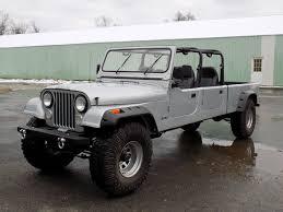 cj8 jeep 1984 jeep cj 16 4 door crew cab short bed pickup v8 1 of 1