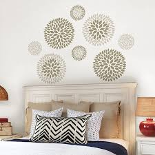 wall pops wpk1266 chrysanthemum kit decal amazon com