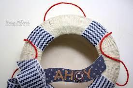 Nautical Themed Ribbon - a nautical themed wreath may arts wholesale ribbon company