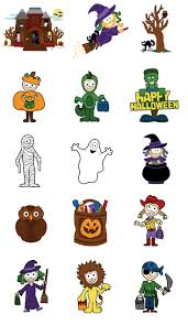 spooky clip art 392 best witch sticker u0026 clipart images on pinterest halloween
