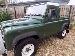 range rover defender pickup used green land rover defender for sale wiltshire