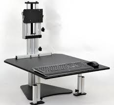 adjustable height desk ergo desktop