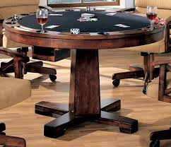 poker game table set marietta black convertible bumper pool poker dining table from