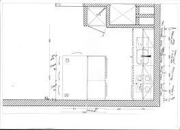 largeur cuisine largeur plan de travail attachant largeur plan travail cuisine