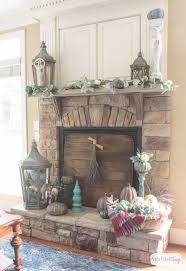 fireplace blanket binhminh decoration
