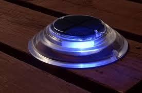 Solar Powered Deck Lights Surface Mount Solar Dock Deck Light