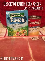 crockpot ranch pork chops recipe ranch pork chops chops