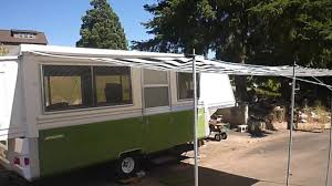 Apache Awnings How To Install An Inexpensive Awning On An Apache Camper Youtube