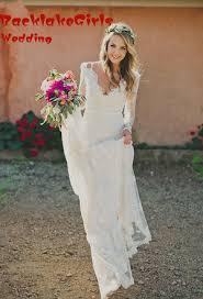 Hippie Wedding Dresses Online Get Cheap Wedding Dress Hippie Mermaid Aliexpresscom