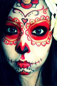 Halloween Skeleton Faces by 128 Best Sugar Skull Make Up Images On Pinterest Sugar Skulls