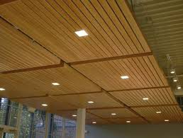 lovely basement ceiling ideas wood panel ceiling with square
