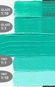 turquoise blue paint golden artist colors inc