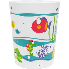 mainstays something u0027s fishy wastebasket walmart com