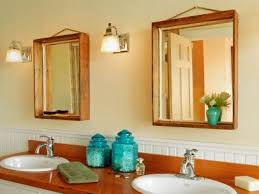 Bathroom Mirror Frame Kit How To Turn A Wood Crate Into A Mirror Frame How Tos Diy Bathroom
