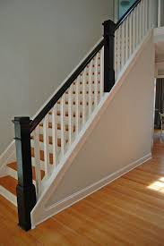 Banister Railing Ideas The 25 Best Wood Stair Railings Ideas On Pinterest Stair Case