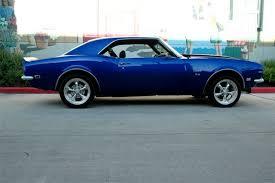blue 68 camaro 1968 chevrolet camaro