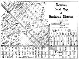 denver downtown map my