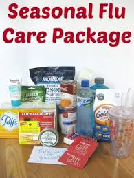 sick care package a get well basket for my sick medicine candy drink soup