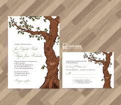 Wedding Invitations And Rsvp Cards Together Free Pdf Rustic Wedding Invitation And Rsvp Template Fairytale