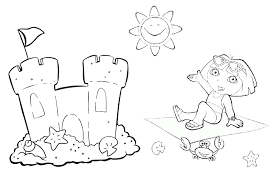 dora coloring pages overview kind free dora sheets
