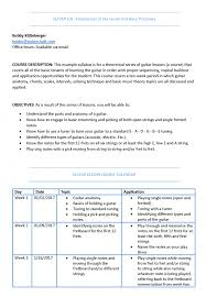 designing the perfect guitar lesson plan and syllabus chalk