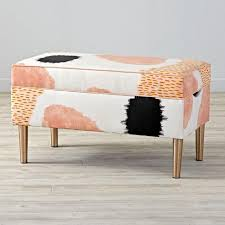 Upholstered Storage Bench Upholstered Storage Bench For Bedroom Home Town Bowie Ideas
