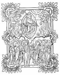 coloring download illuminated manuscript coloring pages