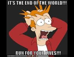 Meme End Of The World - funny meme s about the end of the world photos abc news