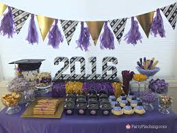 themed dessert table open house party best ideas for grad party at home