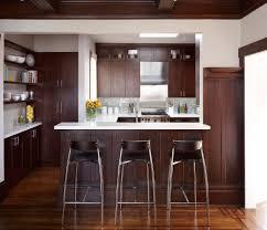 farmhouse floors dark wood floor contemporary kitchen normabudden com