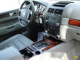 volkswagen touareg interior kristal grey interior 2005 volkswagen touareg v6 photo 62508586