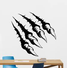 compare prices teens room decor online shopping buy low price monster claws claw breaking wall tattoos wild animal beast teen boy room decor sticker
