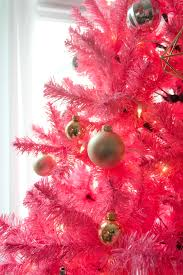 this year u0027s christmas decor aka the pink christmas tree