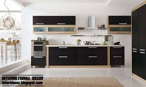 Design Kitchen Furniture Kitchen Modern Black Kitchen Design Idea Furniture Photos
