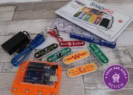 snapino snap circuits arduino coding
