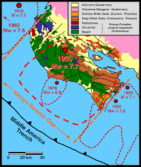 Washington State Earthquake Map by Megathrust Earthquakes Coastal Uplift And Emergent Marine