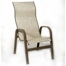High Back Sling Patio Chairs Sling Patio Furniture Aluminum Patio Sling Chairs National