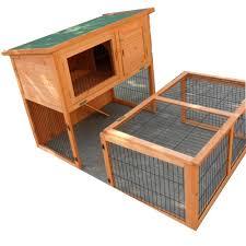 Rabbit Hutch With Large Run Tinnapet Chicken Coop Rabbit Hutch Online Pets Shop Ship