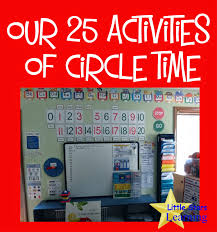 Floor Plan Of Preschool Classroom Little Stars Learning Our 25 Activities Of Circle Time