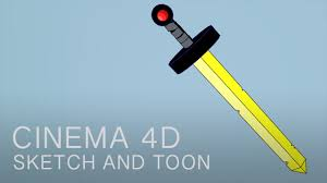 cinema 4d tutorial sketch and toon shading youtube