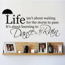 Inspirational Quotes Decor For The Home Online Get Cheap Rain Decoration Aliexpress Com Alibaba Group