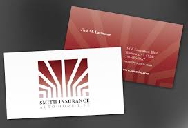 business card template for insurance agent insurance agency order