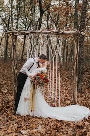 lowes wedding arches sunburst macrame wedding arch mosshound designs
