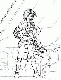 pirate coloring page coloring home