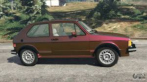 volkswagen rabbit custom volkswagen rabbit 1986 v2 0 for gta 5
