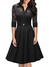 Long Sleeve Black Fit And Flare Dress Fit U0026 Flare Dresses Cheap Price