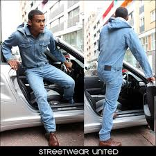 mens one jumpsuit mint one denim jumpsuit overall dungarees