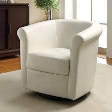 Barrel Accent Chair Barrel Back Accent Chair In White Coaster Furniture Furniturepick