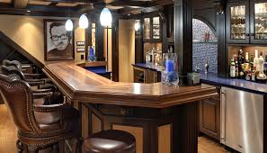 Bar Counter Top Interior Diy Basement Bar In Awesome John Everson Dark Arts Blog