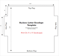 business envelope template business envelope template free